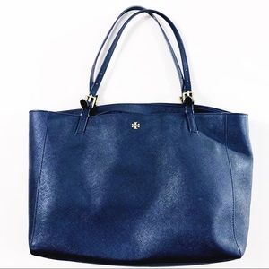 """TORY BURCH """"Emerson Buckle"""" Large Leather Tote"""